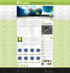 SavingPower's webdesign