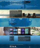 Sleep Music Store's webdesign by SkinnyDesigns