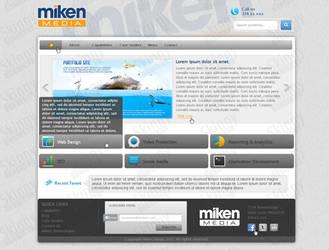 Website design for Application Development Company