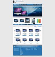 SimpleStore webdesign by SkinnyDesigns