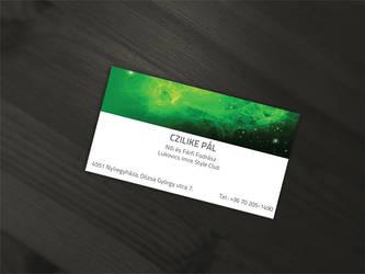 Business Card design for Czilike Pal