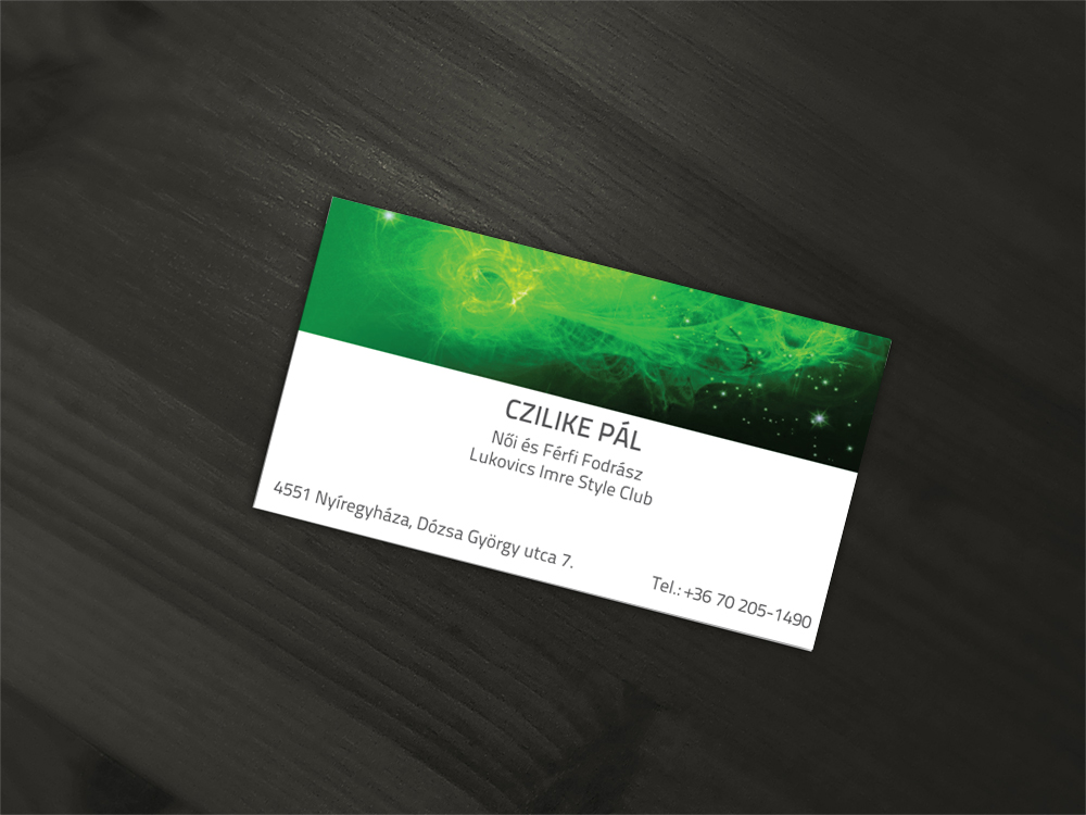 Business Card design for Czilike Pal by SkinnyDesigns