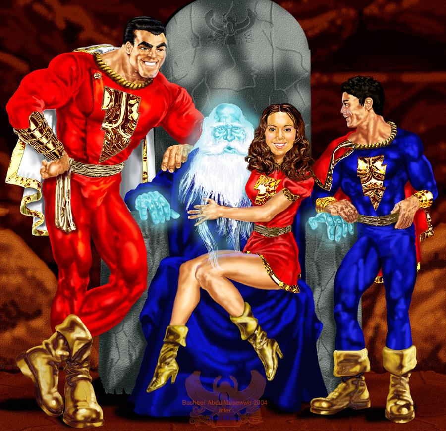 SHAZAM The Marvel Family By ABDULMUSAWWIR