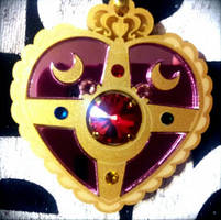 Sailor Moon Necklace from KumaCrafts by sweet-choia