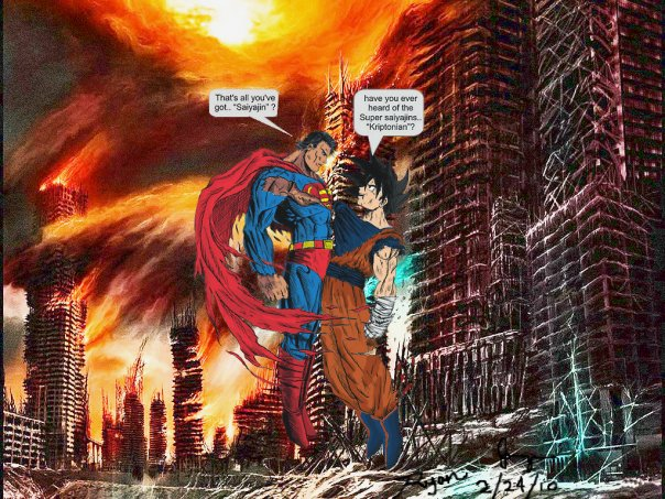 Superman Prime Vs Goku | www.imgkid.com - The Image Kid ...