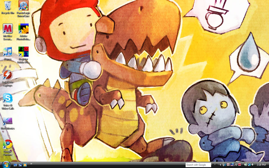 Scribblenauts Background by Eleanor-D on DeviantArt