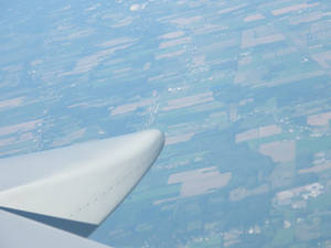 View from a plane 2