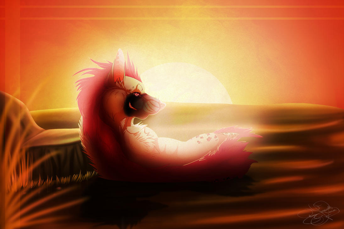 AT: When the Sun Goes Down... by SillyTheWolf