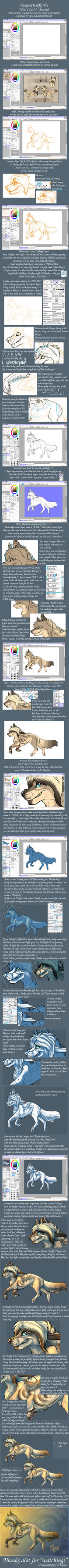 .: VampireWolfGirl's Tutorial: How I Do It :. by SillyTheWolf