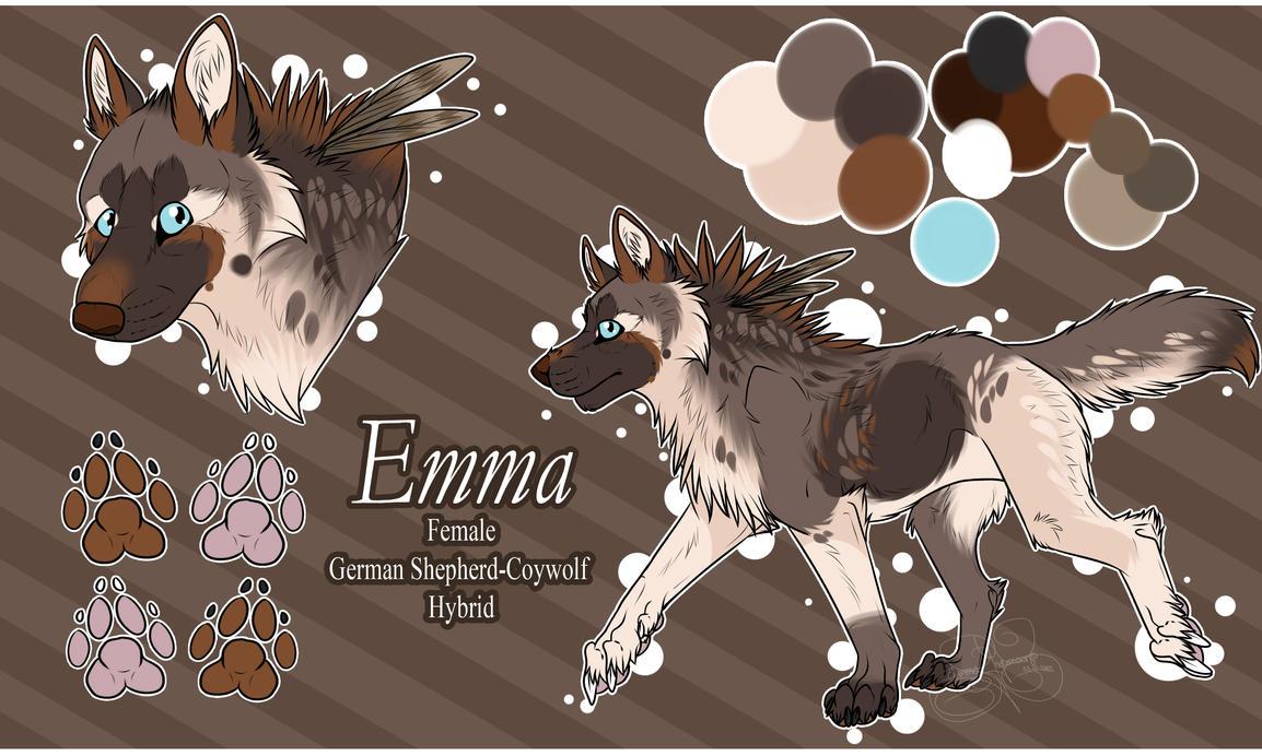 .: Emma Temp. Ref :. by SillyTheWolf