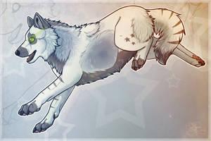 AT: .: Stars Collide :. [+Speedpaint] by SillyTheWolf