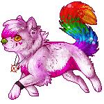 C: .: Meeka Pixel :. by SillyTheWolf