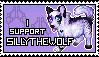 .: New SillyTheWolf Stamp :. by SillyTheWolf