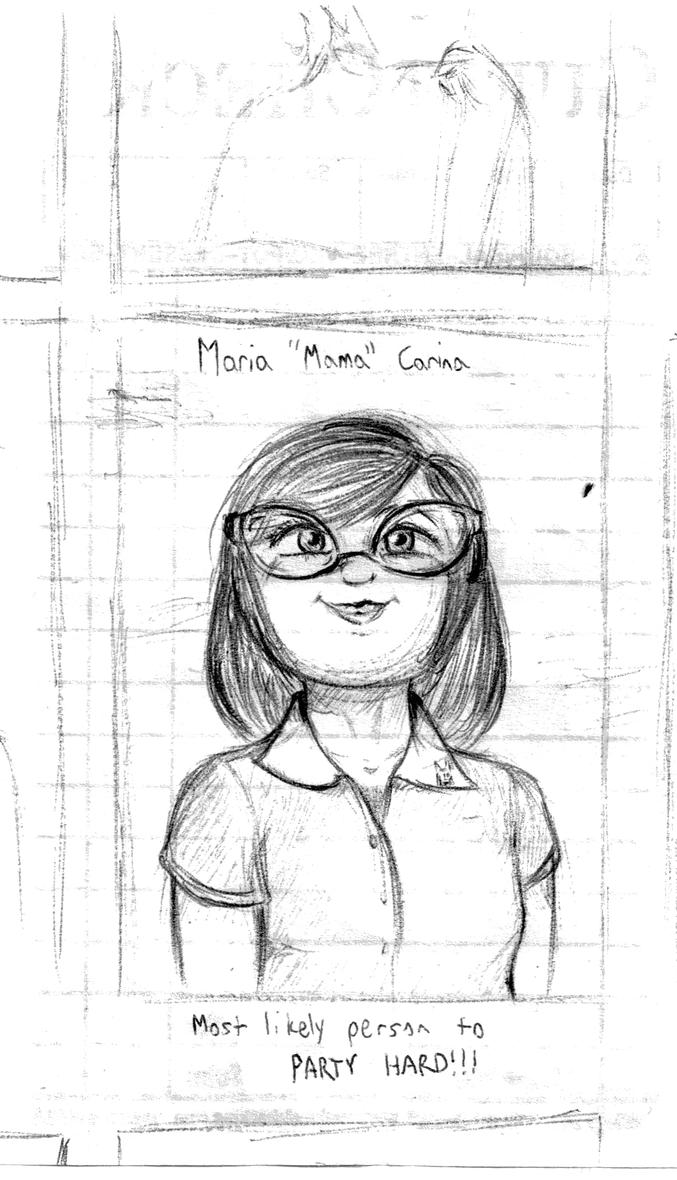 Maria's Yearbook Picture by CircuitDC