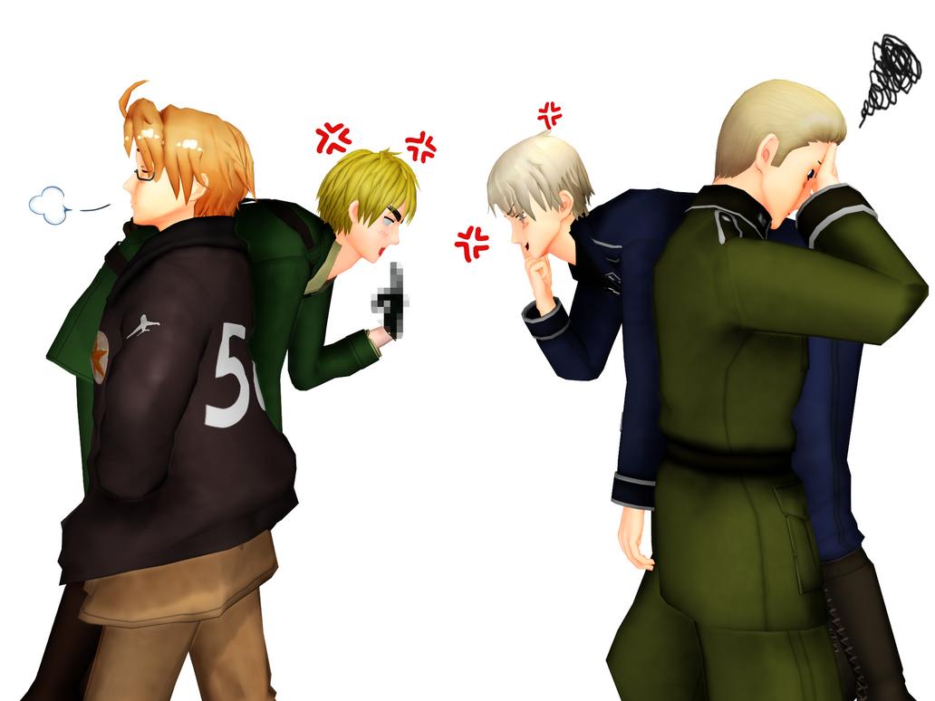 [MMD] I hate you!!! by asha1095