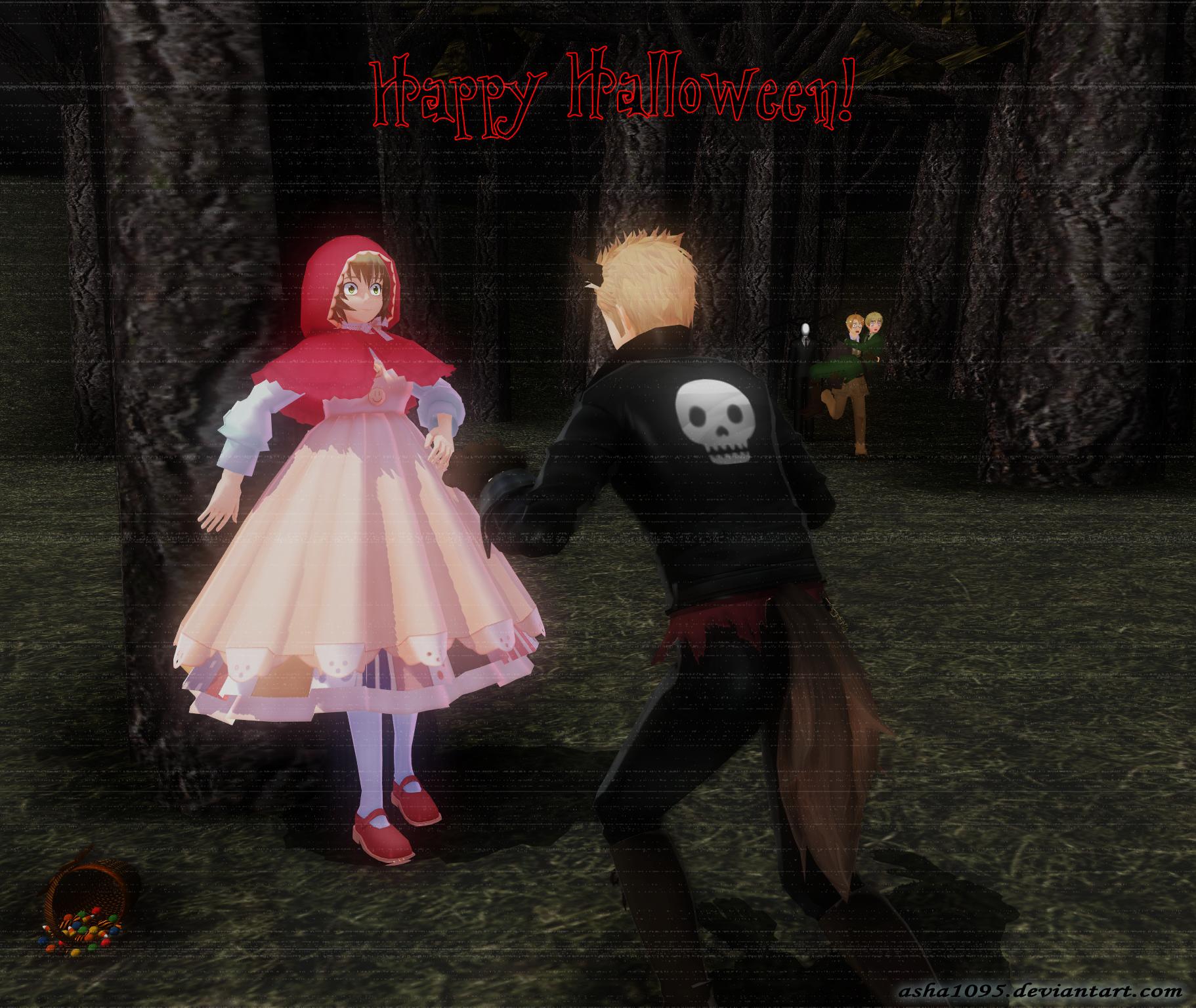 Happy Halloween :3 by asha1095