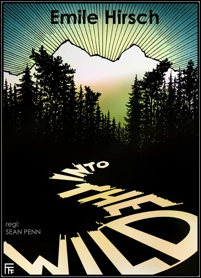 Into The Wild movie poster by Alfvag