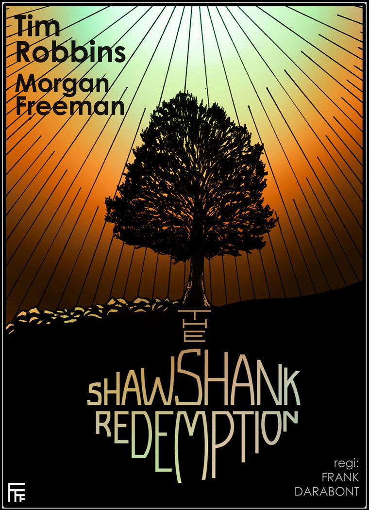The Shawshank Redemption movie poster by Alfvag