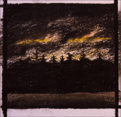 Landscape sketch by Alfvag