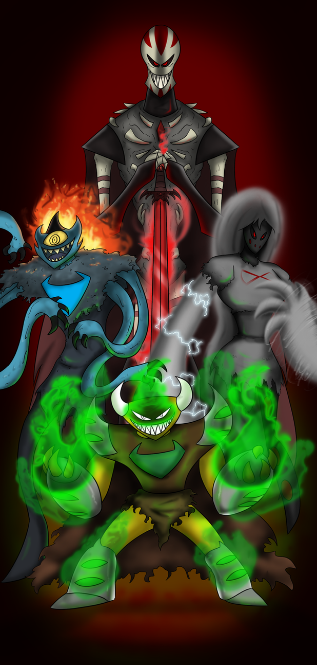 The Dark Four by Devicon