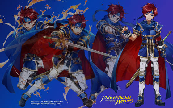 Roy from Fire Emblem Heroes - Wallpaper E