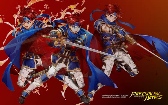 Roy from Fire Emblem Heroes - Version F