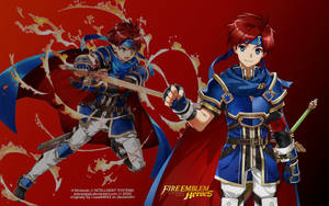 Roy from Fire Emblem Heroes - Recreation