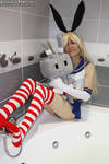 Wet shimakaze 001/135 by Cosplay-Trap