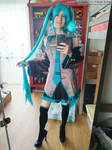 Miku mini show 03/50 by Cosplay-Trap