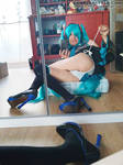 Miku mini show 36/50 by Cosplay-Trap