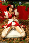 Sarada tease the bulge by Cosplay-Trap