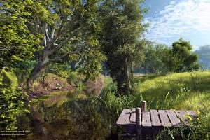 Reflections of June by neanderdigital