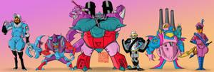 TFA Seacons - Robot Modes