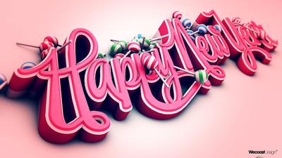 Happy New Year by wecoastdesign