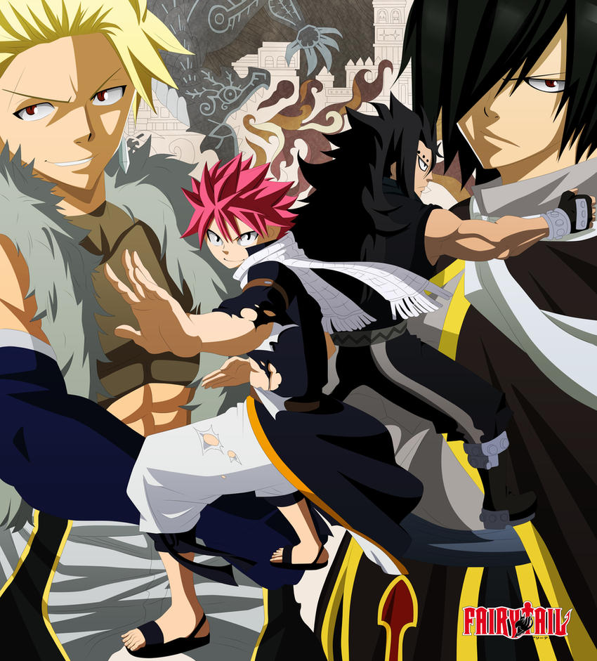 Fairy Tail - Tomo 35 by lWorldChiefl