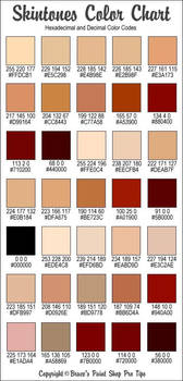 skin color reference
