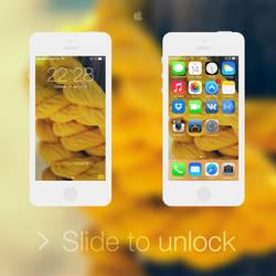iOS 7 - Yellow