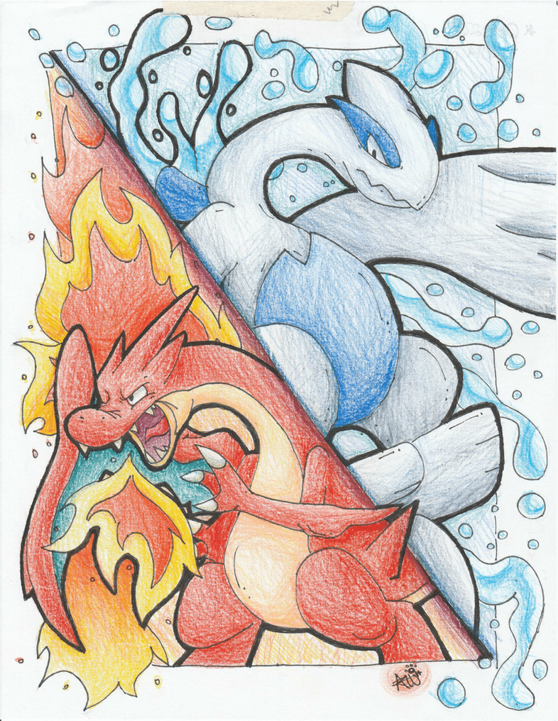 Fire and Water by SilverSonic44