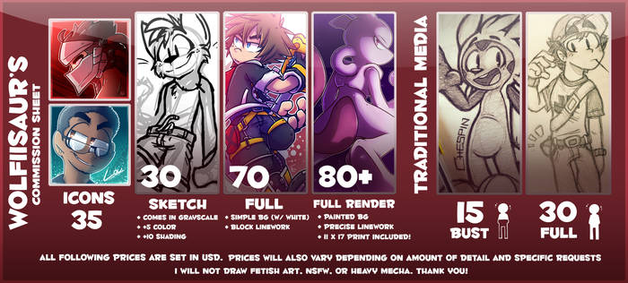 commission sheet - mid 2017