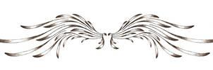 Angelic Wing Tattoo