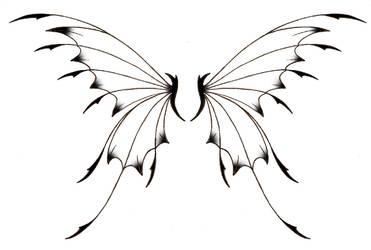 Fairy Wing Tattoo by stargazer03