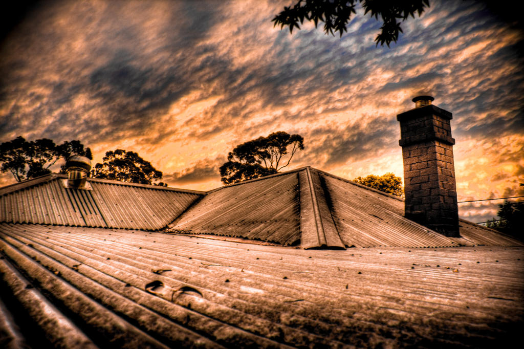 Hot Tin Roof HDR by youwha