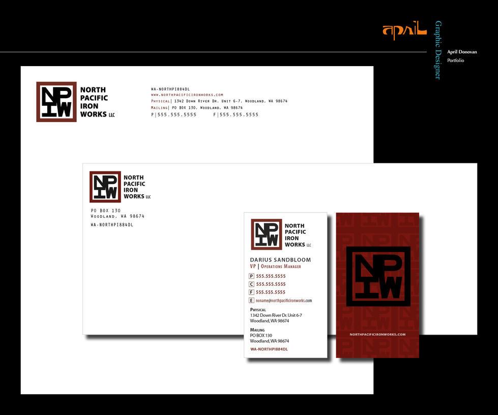 design company letterhead