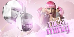 Nicki Minaj Signature Banner