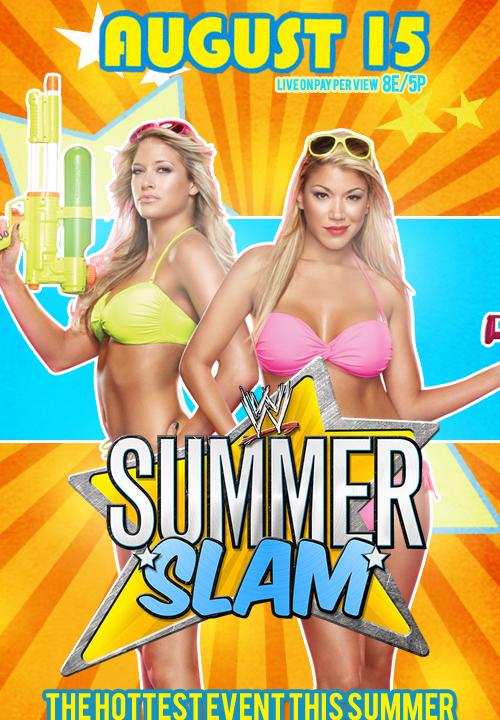 SummerSlam 2011 Diva Poster by nerdynoeleen