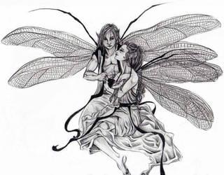 Jenks and Matalina-Welcoming by Kodachiku