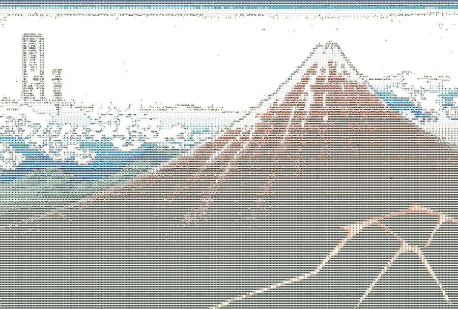 Rainstorm Beneath the Summit ASCII by Otone