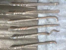 Handmade Medieval Lockpicks