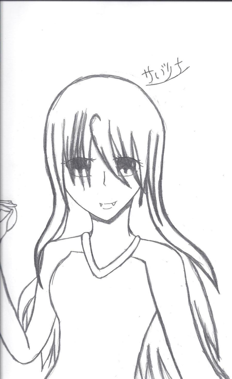 Anime Vampire Girl By ShiranuiAmatarasu On DeviantArt