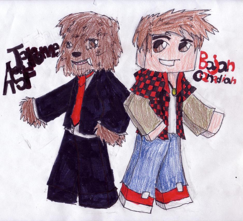 Bajancanadian And Jerome Fan Art And jerome fan art